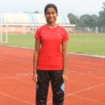 Arya Sinkar won Silver medal in 400m individual running