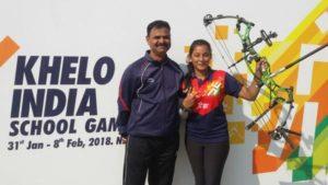 Isha Pawar Wins Gold