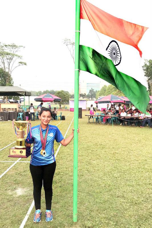 Isha Pawar wins South Asian Archery Championship 2018