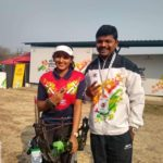 Archer Esha pawar wins gold medal in khelo India at Balewadi, Pune